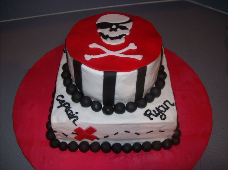 cool pirate cakes