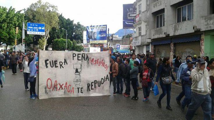 #DESTACADAS:  Confirma Sección 22 protesta contra visita de EPN a Oaxaca - NVI Noticias
