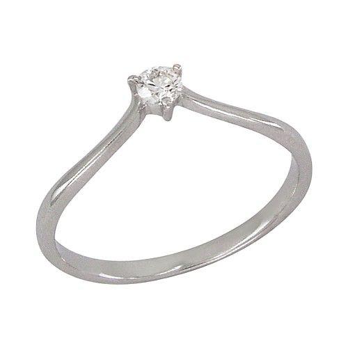 Kihlasõrmus teemantiga