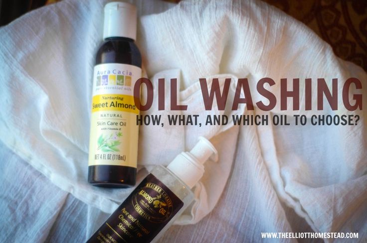 Oil Washing: How, What, and Which One To Choose? http://theelliotthomestead.com/2013/12/oil-washing-how-what-and-which-one-to-choose/