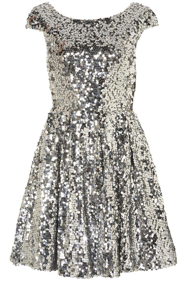 .: Discos Ball, Party Dresses, Parties Dresses, Sequins Dresses, Holidays Dresses, Silver Sequins, Sequins Skater, Skater Dresses, Silver Sequin Dress
