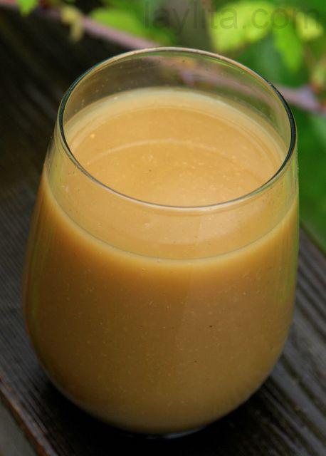 Ecuadorian: Colada de Avena con Naranjilla or Ecuadorian Oatmeal Drink Recipe: Ecuadorian Food, Brown Sugar, Oat, Ecuadorian Oatmeal, Oatmeal Drinks, Con Naranjilla, Oatmeal, Ecuadorian Recipe, Drinks Recipe