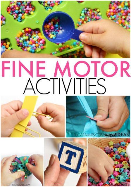 Fine Motor Skills: 3 Activities to Help Your Preschool ...
