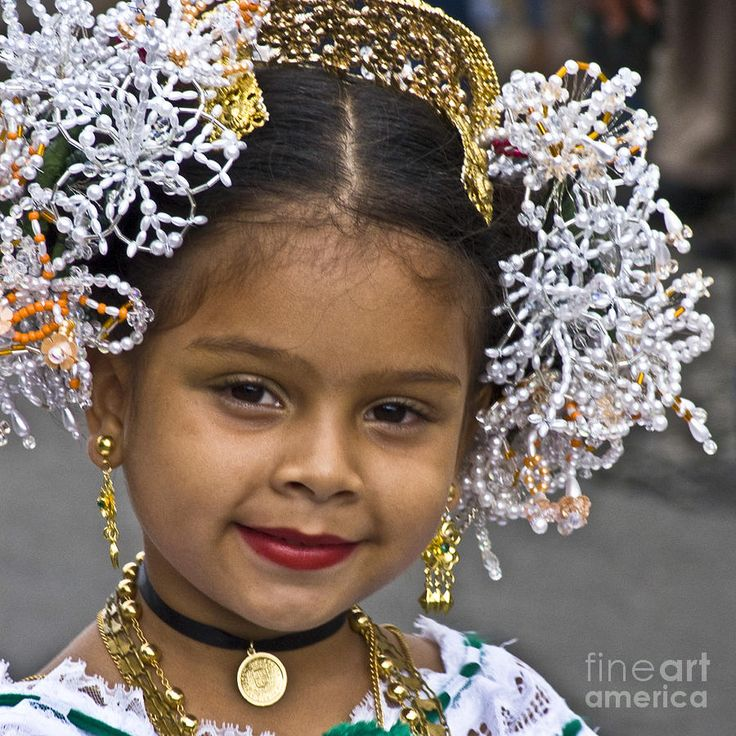 Colombian headdress