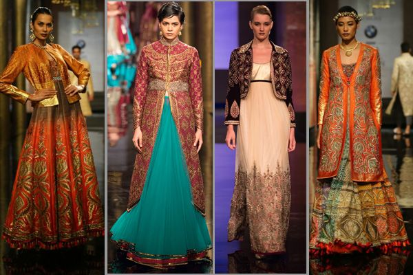Top 7 Trendy Looks You Must Steal From Indian Bridal Fashion Week 2014 - BollywoodShaadis.com