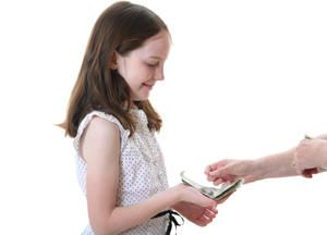 Giving children an allowance can lead to surprising results.