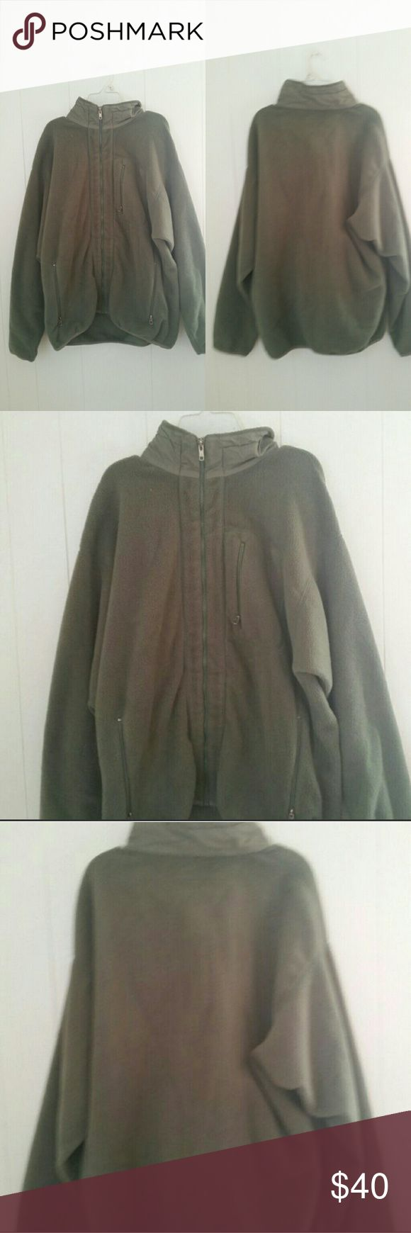 Mens Patagonia Fleece Jacket Size - L Brand - Patagonia Color - Olive Green  MSRP - $240 100% polyester   Only flaw are tags are ripped as shown in 3rd photo jacket itself is in great used condition Patagonia Jackets & Coats Lightweight & Shirt Jackets