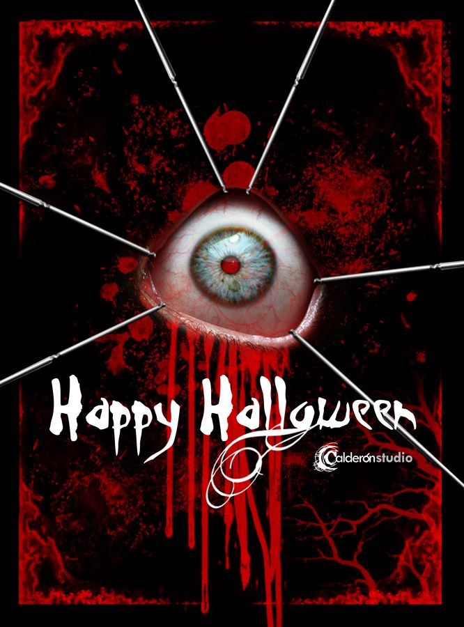 """""""Ten mucho ojo en Halloween"""" Ilustración promocional Halloween 2015"""