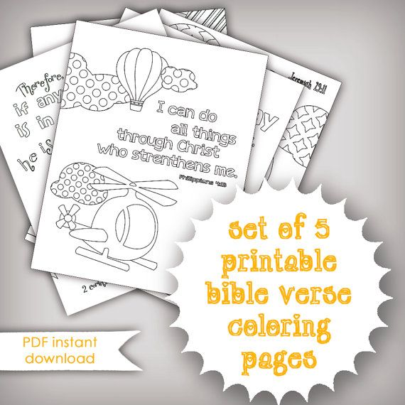 67 best Bible Verse Coloring Pages images on Pinterest  Coloring