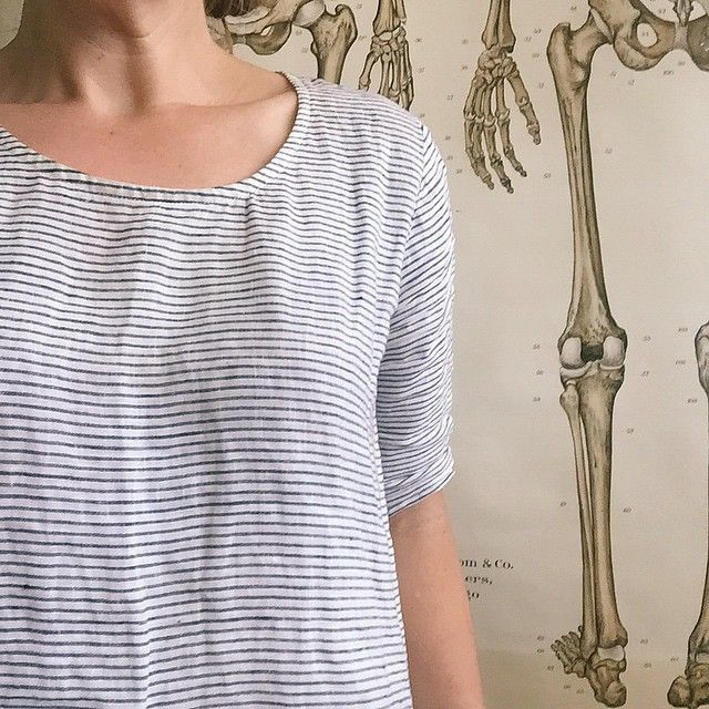 Day 31!!! #memademay #mmmay15 Scout tee with linen from @tessutifabrics. #scouttee. Thanks for playing along and all the wardrobe love.