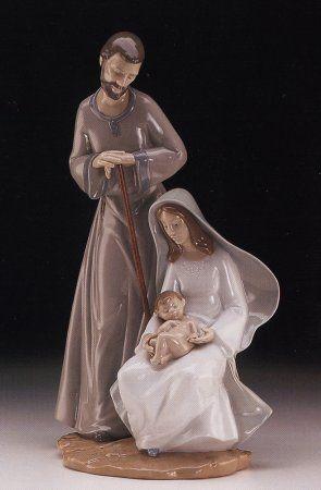 Lladro Nao Holy Family
