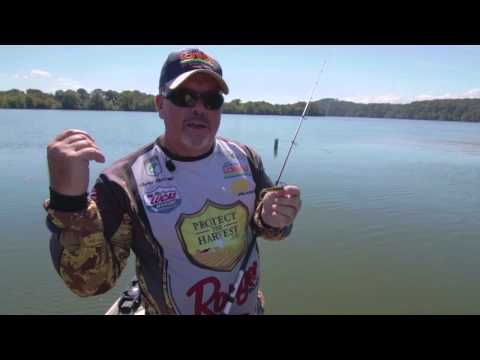 Swimming Finesse Baits with Drop Shot Rig for Bass - YouTube