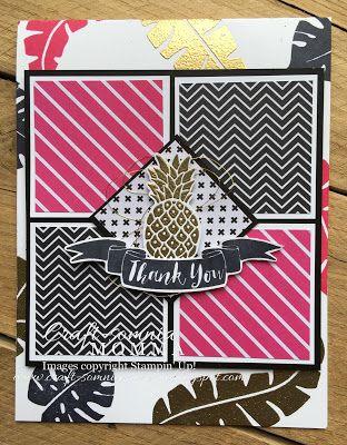 Pop of Paradise Pineapple ~ by Breelin Renwick | Craft-somnia Momma