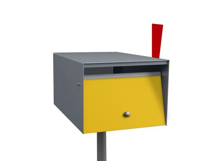 Modern Mailbox Urban Front Opening Www.boxdesignusa.com