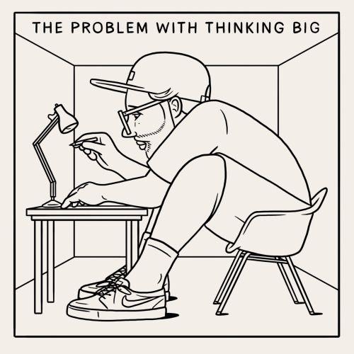 Ironia e surrealismo nelle illustrazioni di Matt Blease