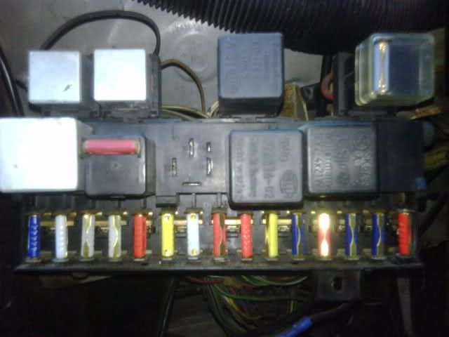 porsche 924 club fuse box layout - google search