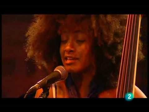 "Jaw.on.the.floor.  Totally in love right now..  Esperanza Spalding - ""Wild Is The Wind"" (Live in San Sebastian july 23, 2009 - 5/9)"