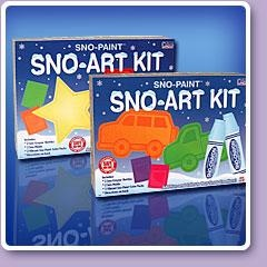 It's Snow Fun Outside- $ 17.55: http://www.dannabananas.com/sno-art-kit.html