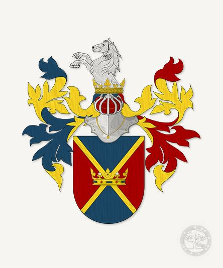 Erb šlechtice Huga Augusta Kociána © Genealogie Jihočeské rody 2015