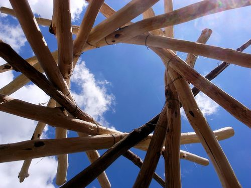 This is a long-delayed post about building my reciprocal roof frame. This entry documents the details of building my reciprocal roof frame, including the type of wood I used, the number of rafters, and the work process itself. I hope that this will be useful for individuals who want to attempt building a similar frame. …