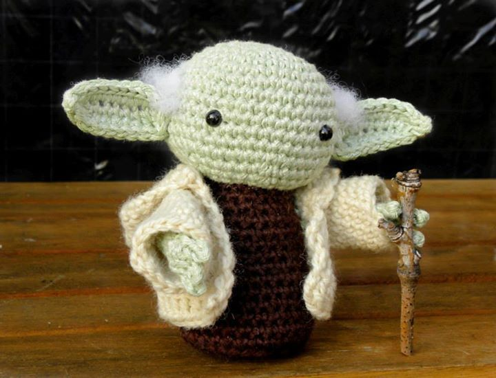 Amigurumi Star Wars Patterns Free : Best yoda crochet images crochet free patterns