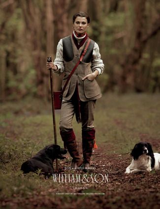 Proper field gear    William & Son Ladies Collection is available through Logsdail Classic.