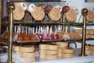 Main Street Confectionery in Magic Kingdom - I love Rice Krispy treat Mickey's