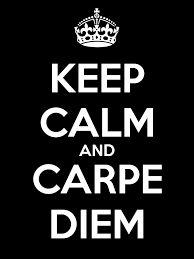 Image result for keep calm and carpe diem