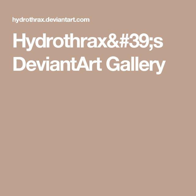 Hydrothrax's DeviantArt Gallery