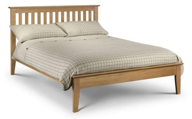 Simplicity Goes A Long Way With The Salerno Shaker Oak Bed