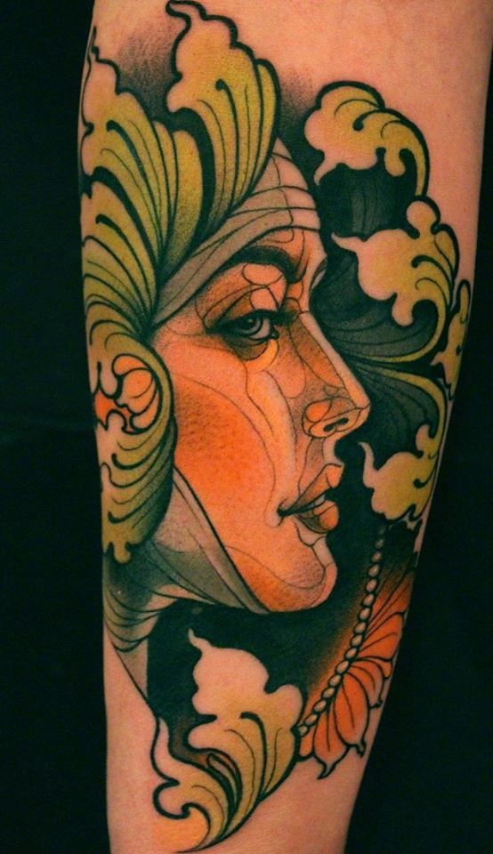 "Tattoo by Lars ""Lu's Lips"" Uwe"