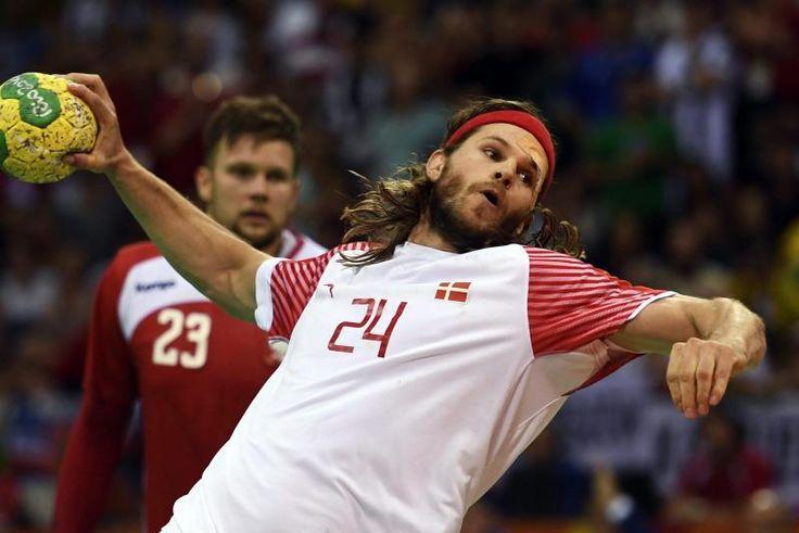 Rio de Janeiro (dpa) - Die deutschen Handball-Männer spielen gegen Polen um die Bronzemedaille bei den Olympischen Spielen in Rio de Janeiro. Die Polen unterlagen im Halbfinale Dänemark mit 28:29 (25:25, 16:15) nach Verlängerung. (800×534)