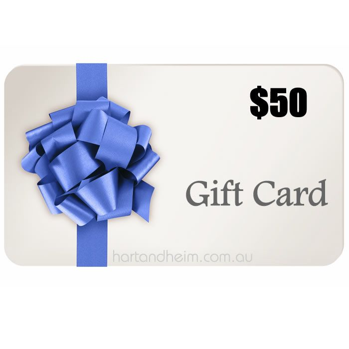 hart&heim | 50$ Gift Card | hart&heim