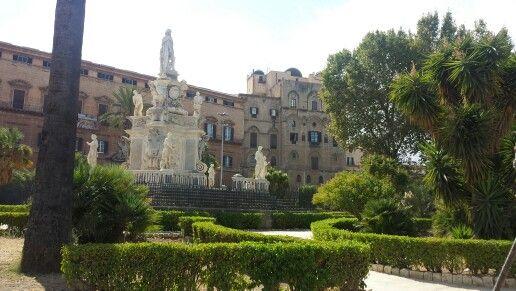Palazzo dei Normanni #palermo #sicilia