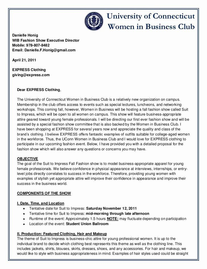 20 Bill Proposal Example In 2020 Business Proposal Letter