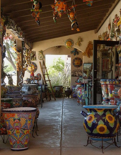 Tubac Az 161 161 Viva M 201 Xico Pottery Mexican Furniture