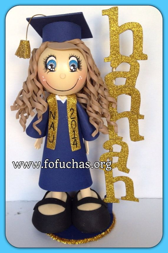 Graduation 3D Foamy Fofucha Doll , $27.50 #graduation #GraduationParty #fofuchas