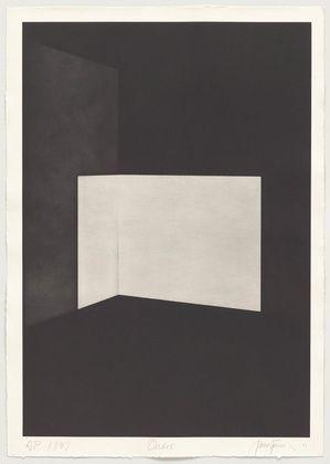 James Turrell • Ondoe from First Light, 1989-90 • Aquatint