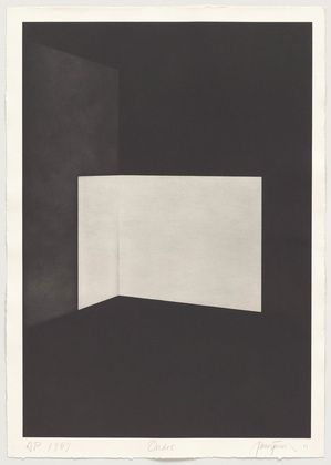 James Turrell • Ondoe from First Light, 1989-90 • Aquatint