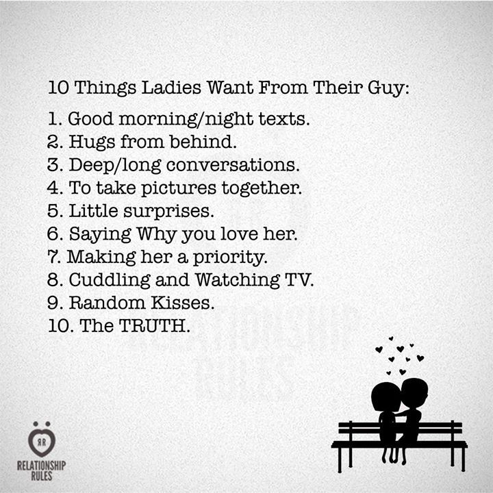 10 Things Ladies Want From Their Guy Inspirational Marriage