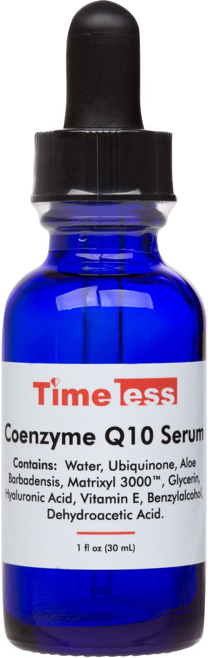 Timeless Skin Care  - Coenzyme Q10 Serum 1 oz, $24.95 (http://www.timelessha.com/coenzyme-q10-serum-1-oz/)