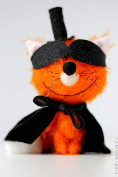 Mr Fox - Mr X - Miniature fox By Farberova Olga - Bear Pile