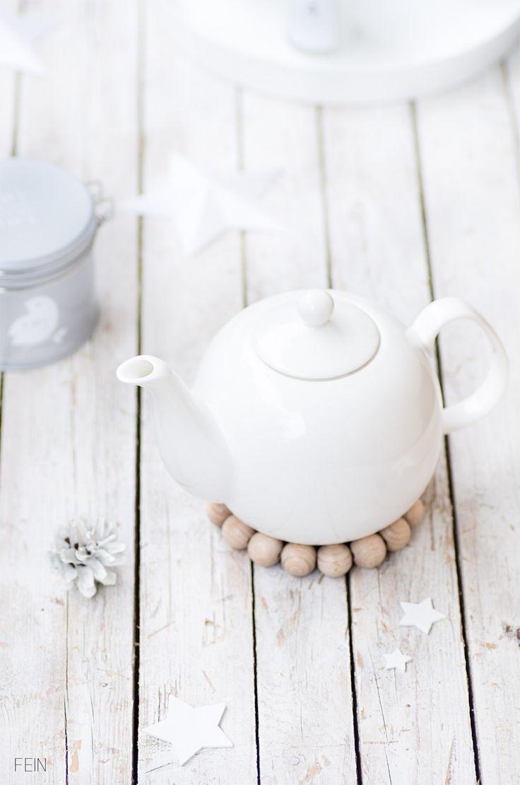 Duftkerzen Teekanne Winter in Lov