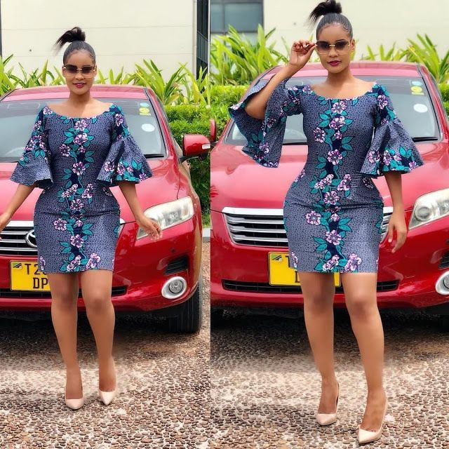 2019 African Print Dress Styles : Chic Fashion Ideas for Ladies This Season – Za… by laviye