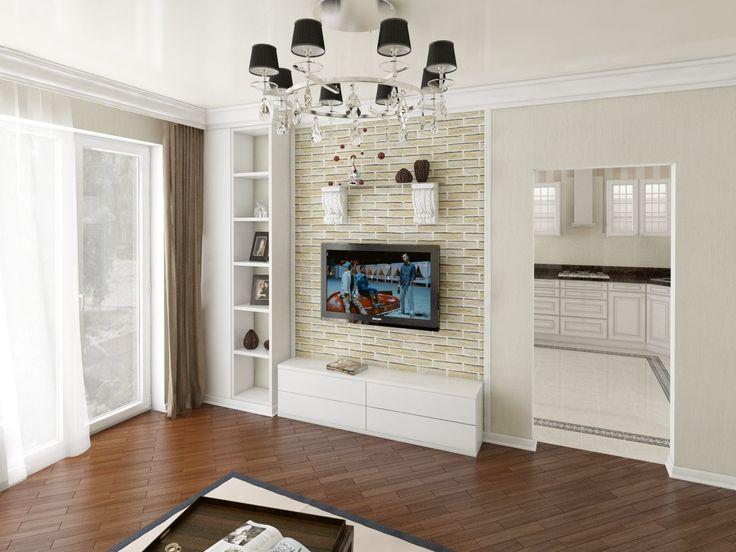 """Дизайн интерьера дома, в коттеджном поселке """"Волжский проспект"""" в Энгельсе выполнен в классическом французском стиле. Выполнен Дизайн кухни, спальни и гостиной. Площадь проекта 60м2."""
