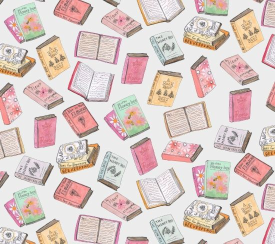 background, book, books, fondos, libros, pattern, patterns, pink, wallpaper, bee…