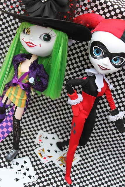 Duela Dent & Harley Quinn by pullip_junk
