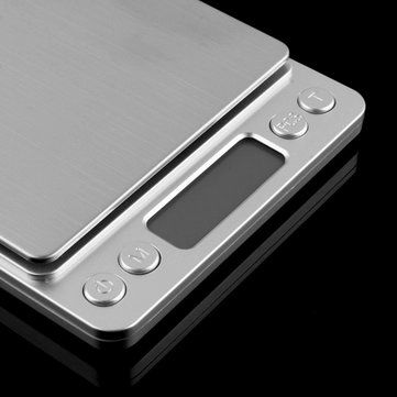 Honana HN-MS1 2000g 0.1g Mini Multi-unit Conversion Digital Electronic Kitchen Scale Pocket Jewelry at Banggood