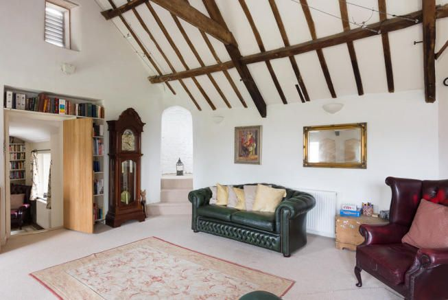 Dating back to Medieval days when these buildings were part of Banwell Abbey storage facilities, then upgraded with considerable charm in Victorian Gothic, this barn conversion in Somerset has bags of character... Xmas '16