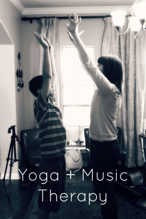 Yoga + Music Therapy. Complete with fantastic CD suggestions!